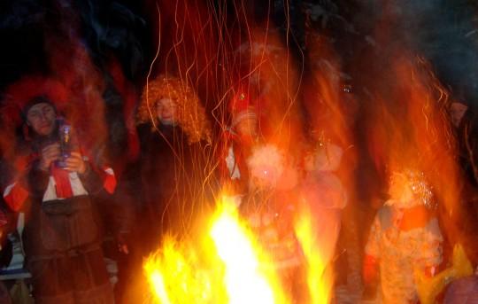 Новогодний карнавал. 24 декабря