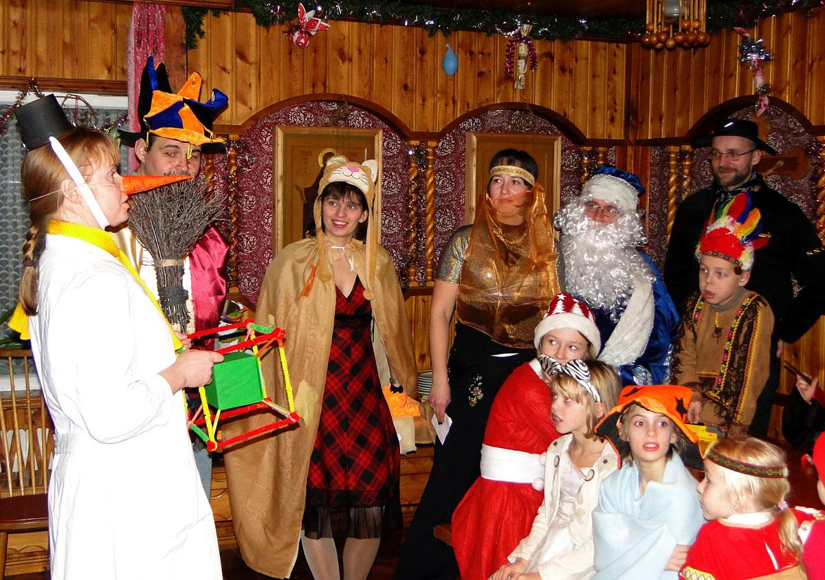 Волшебники из новогодней сказки