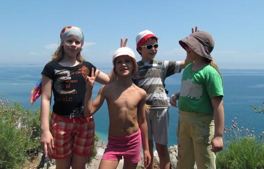 Дети на Ликийской тропе
