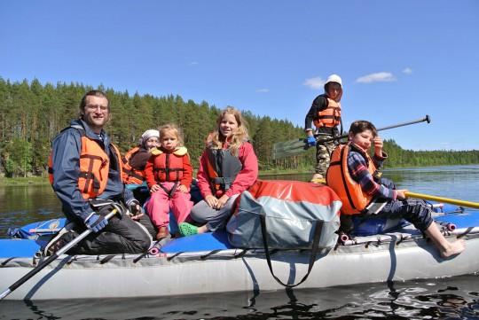 Поход с детьми. Финляндия