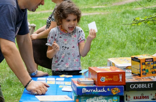 Игротека на детском слете