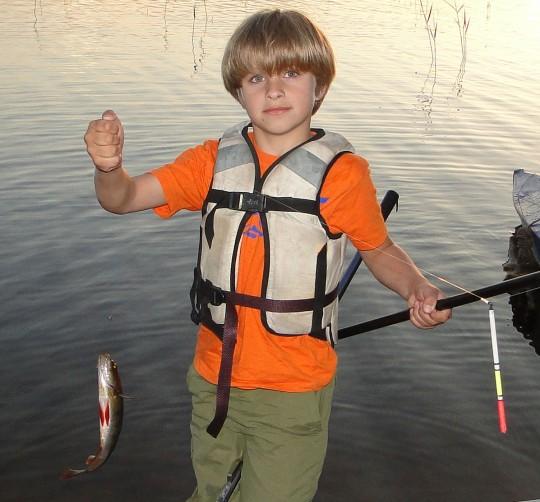 Рыбалка с детьми