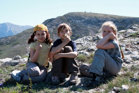 Девчонки на Чатырдаге