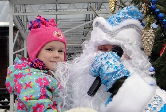 Дед Мороз, потрёпанный Катькой