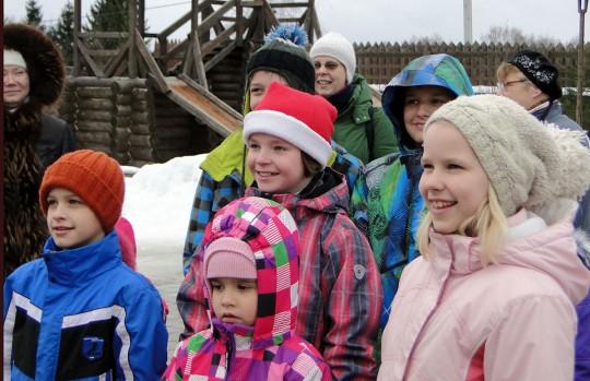 Новый Год с детьми и Дедом Морозом