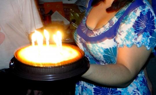 Именинный торт Кати Жихарской