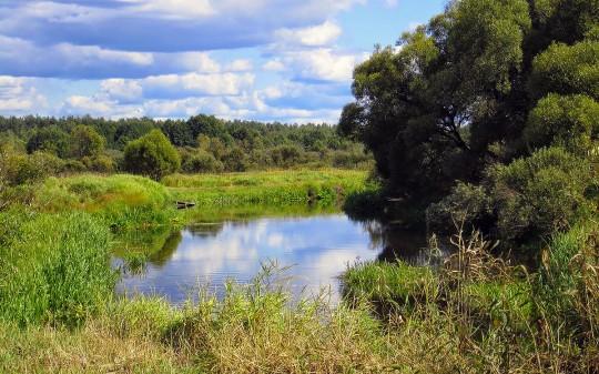 Река Нерская. Купалка
