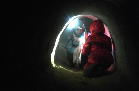 Пещеры под крепостью Хельме