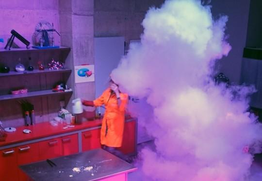 Научный театр. Состав воздуха