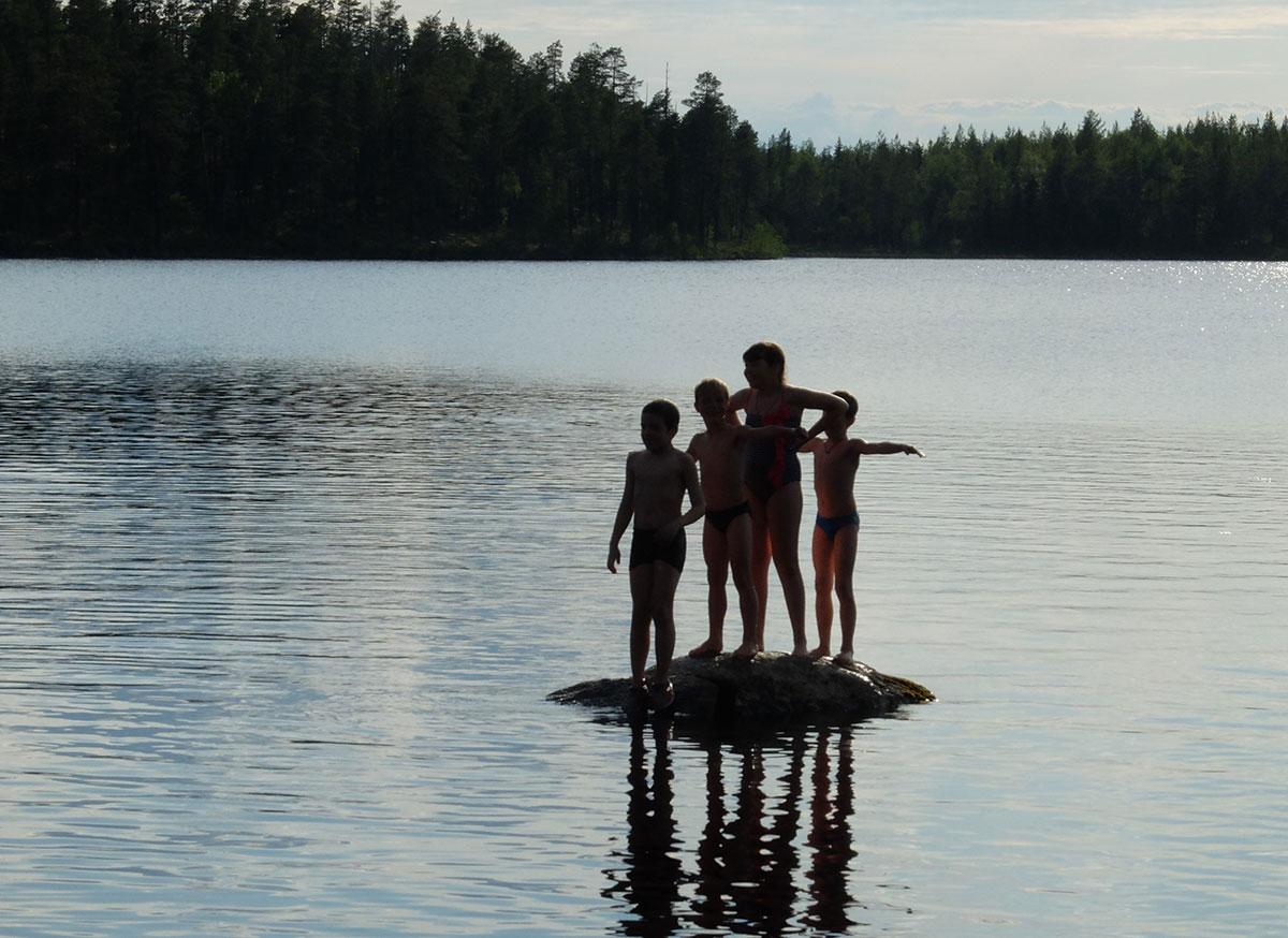 На озере Мандуярви