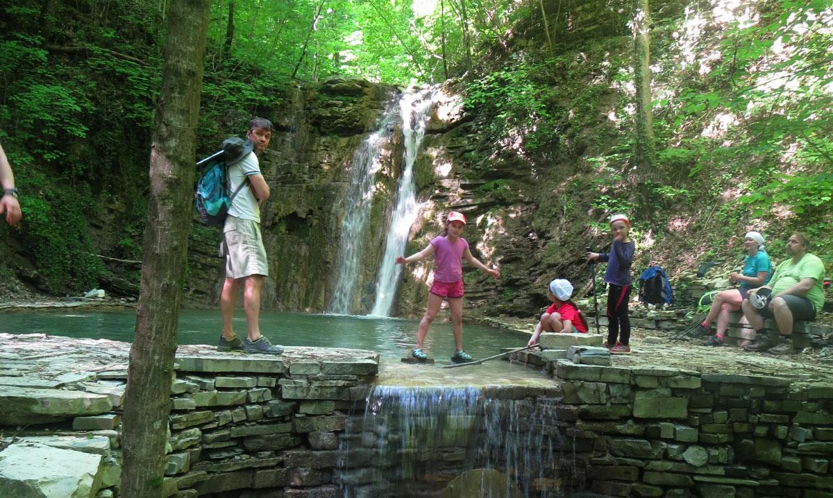 Хрустальный водопад